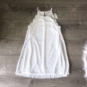Francesca's NWT white lace dress